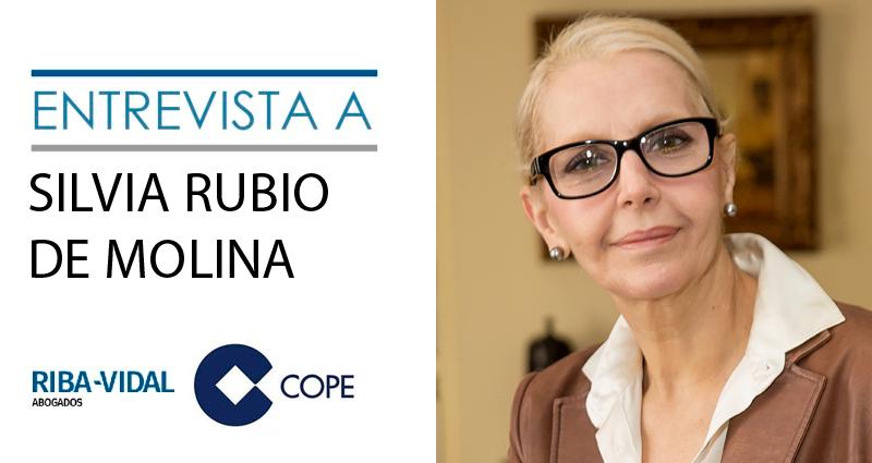 Silvia Rubio entrevista en COPE